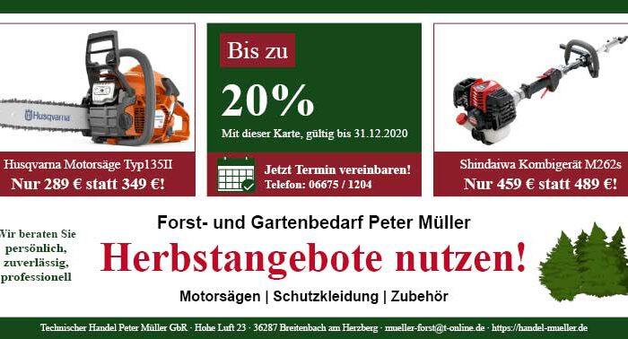 Forst-und-Gartenbedarf-Peter-Müller-Gutschein-Herbst